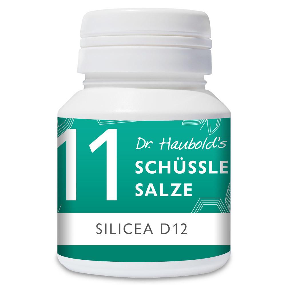 Dr Haubolds Schüssler Salz Nr 11 Silicea D12